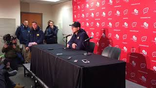 Download Jim Harbaugh on Brandon Peters' injury, Wisconsin loss Video