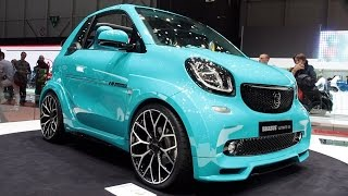 Download 2017 Smart Fortwo BRABUS Ultimate 125 Cabrio In detail review walkaround Interior Exterior Video