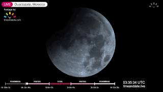 Download January 2019 Total Lunar Eclipse Live Video