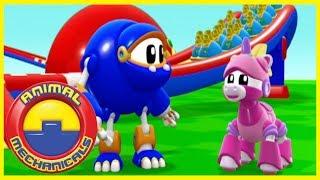 Download Animales Mecanimales 🐸🤖 S01E07 🤖🐸 Caricaturas para niños Video