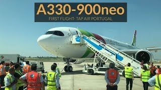 Download Airbus A330-900neo TAP Air Portugal - PRIMEIRO VOO! Toulouse-Lisboa Video