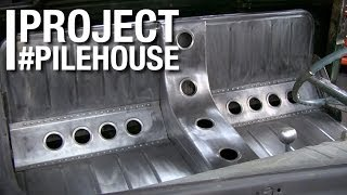 Download Custom Bomber Seat Fabrication on Project Pilehouse with Eastwood Video