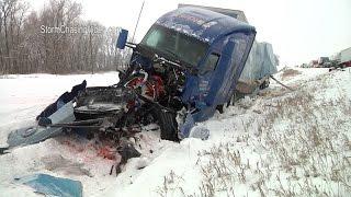 Download LIVE Minnesota Blizzard and Freezing Rain - 11/18/2016 Video