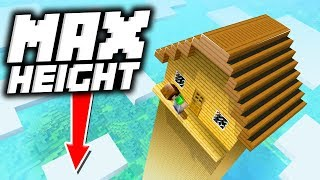 Download 7 Tallest Houses so Players Can't Reach the TOP in Minecraft! Video
