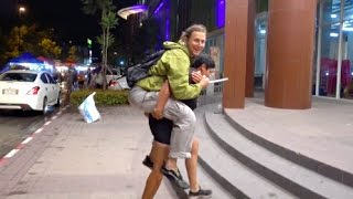 Download She Gave Me A 5 Minute Piggy Back Ride! Video