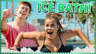 Download Ice Bath Challenge! | Do It For The Dough w/ Tessa Brooks and Chance Sutton Video