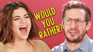 Download Selena Gomez And The Cast Of ″Hotel Transylvania 3″ Play Monster Would You Rather Video