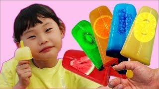Download supermarket song nursery rhyme 라임의 과일 아이스크림 만들기 Video