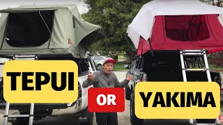 Download Tepui vs. Yakima Tent Review Video