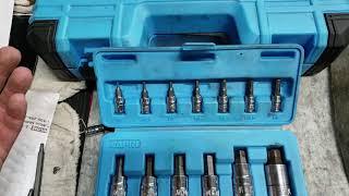 Download Capri Tools, Bits: Standard vs Advanced and Warranty. Video