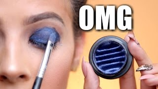 Download MAGNETIC EYESHADOW PIGMENT | does it work?? Video