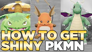 Download How to Get Shiny Pokemon in Pokemon Let's Go Pikachu & Eevee Video