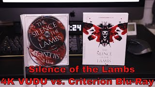 Download Silence of the Lambs 4K VUDU vs. Criterion Blu ray Video