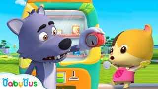 Download Bad Wolf's Cola is Empty | Nursery Rhymes | Kids Safety Tips | Baby Cartoon | BabyBus Video