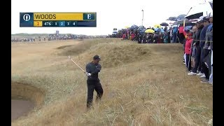 Download Tiger Woods Nearly Annihilates Spectators at British Open Video
