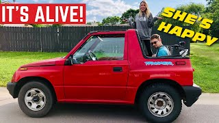 Download It's ALIVE! The $400 Geo Tracker Engine Rebuild Is COMPLETE *First Drive* Video