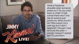 Download Jimmy Kimmel Live Staffers Read Mom Texts Video