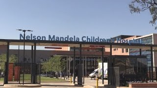 Download Mandela Children's Hospital opens its doors in Johannesburg Video