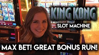 Download King Kong Slot Machine! So Many Bonuses and Re-triggers! Great Run!!! Video