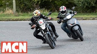 Download A 300-mile adventure on two 125s | #ride5000miles | Motorcyclenews Video