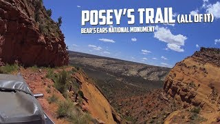 Download Posey's Trail: The old route through Comb Ridge before the highway Video