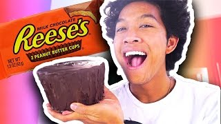 Download DIY HOW TO MAKE Giant Reeses Cup!!! Video