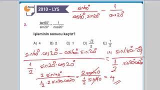 Download Trigonometri Yarım Açı Formülleri Soru Çözümü #2 Video