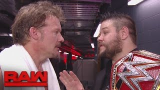 Download Chris Jericho confronts Kevin Owens: Raw, Oct. 17, 2016 Video