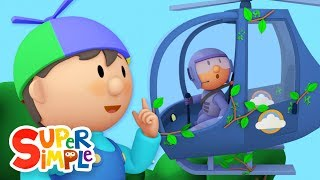 Download Hector's Helicopter goes through the car wash | Cartoon for kids Video