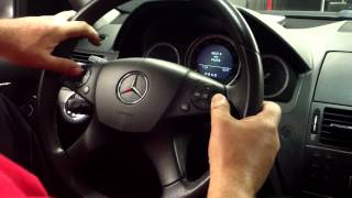 Download Mercedes benz C class 204 service reset. for more info . euroautohouse Video