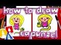 Download How To Draw Cartoon Rapunzel Video