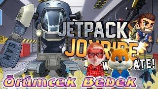 Download Örümcek Bebek ve Sincap Jetpack Joyride Oyunu Oynuyor Örümcek Bebeğin Oyun Videoları Video