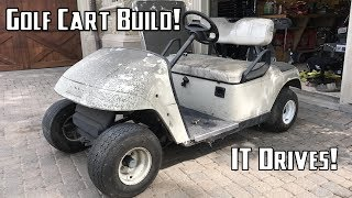 Download Golf Cart Build Part 1   Getting it Running and Disassembly Video