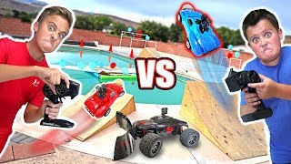 Download RC CAR DRIVING ON THE WATER Balloon Bubble Ball Popping Challenge Video