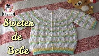 Download Sweater para Bebe DOS AGUJAS Parte 1/2 Video