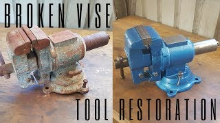 Download Broken Vise Restoration Video