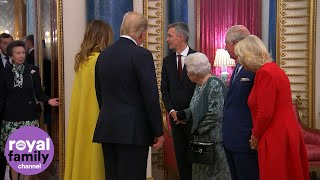 Download The Queen Beckons Reluctant Princess Anne to Greet Donald Trump! Video