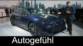Download All-new Toyota Avalon 2019 REVIEW - NAIAS 2018 - Autogefühl Video