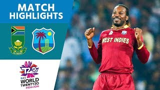 Download ICC #WT20 South Africa vs West Indies - Match Highlights Video