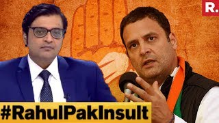 Download Did Rahul Gandhi Cross The Line By Comparing Judiciary To Pak? | The Debate With Arnab Goswami Video