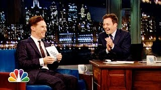 Download Alan Rickman-off with Benedict Cumberbatch and Jimmy Fallon (Late Night with Jimmy Fallon) Video