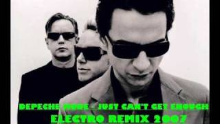 Download Depeche Mode - I Just Can't Get Enough (Electro Remix 2007) Video