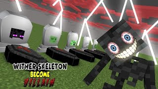 Download Monster School | VILLAIN WITHER SKELETON RIP MOBS | Monster School Video