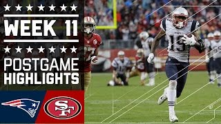Download Patriots vs. 49ers (Week 11) | Game Highlights | NFL Video