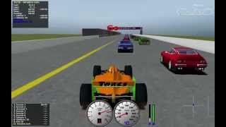 Download TORCS gameplay Car2-Ow2 versus all on Road Tracks - Falcon Plain Video
