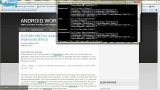 Download How to generate a certificate for Andriod release tutorial. Video