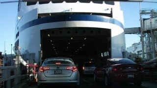 Download Driving on Ferry in Nanaimo Vancouver Island Canada Video