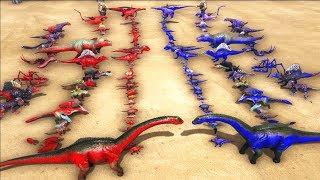 Download All Creatures VS All Creatures - ARK: Survival Evolved | Cantex Video