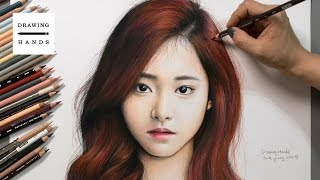 Download Speed Drawing TWICE - Tzuyu [Drawing Hands] Video