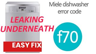 Download Miele Dishwasher F-70 - Leaking - Find the Leak and FIX IT👍 Video
